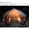 ニョキッとすぐにたつ 快適なワンタッチ寝室用テント KINOKO TENT キノコテント ベージュ 写真7