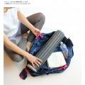 マーナ コンパクトバッグ L トライアングル | エコバッグ 買い物 レジかご お出かけ サイドバッグ スーパー コンパクト 写真7