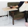 【Lily】サイドテーブル ナチュラル / ホワイト 写真7