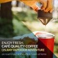 カフラーノ オールインワン コーヒーメーカー 250ml レッド 写真7