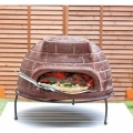 【ピザ・窯・オーブン・暖炉・バーベキュー】 メキシコ製 ピザ窯 チムニー 写真8