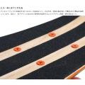 ミニクルーザースケートボード ( ナチュラル ) 写真8