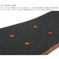 ミニクルーザースケートボード ( ブラック ) 写真8