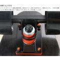 ミニクルーザースケートボード ( ブラック ) 写真9
