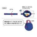 コンパクトバッグ L レッド | エコバッグ 買い物 レジかご お出かけ サイドバッグ スーパー コンパクト 写真9